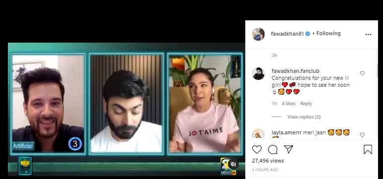 fawad khan chat