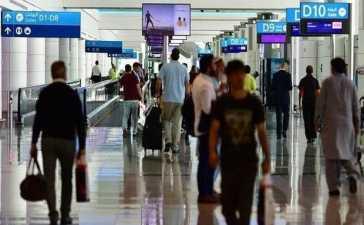 passengers in Dubai airport
