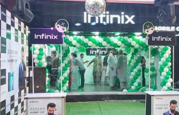 Infinix Pakistan Launches First Experience Store