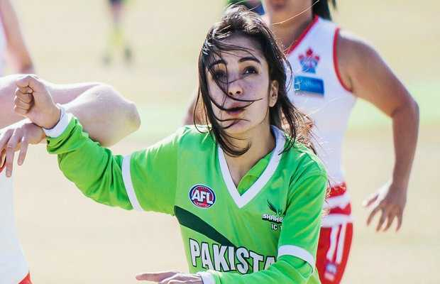 Pakistani footballer Karishma Ali
