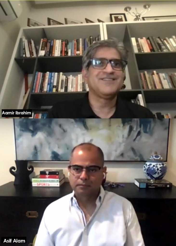 Aamir Ibrahim meeting