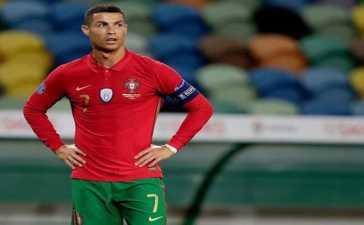 Cristiano Ronaldo coronavirus test