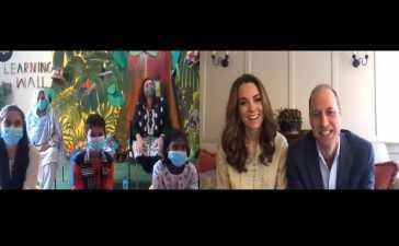 Kate Middleton video call