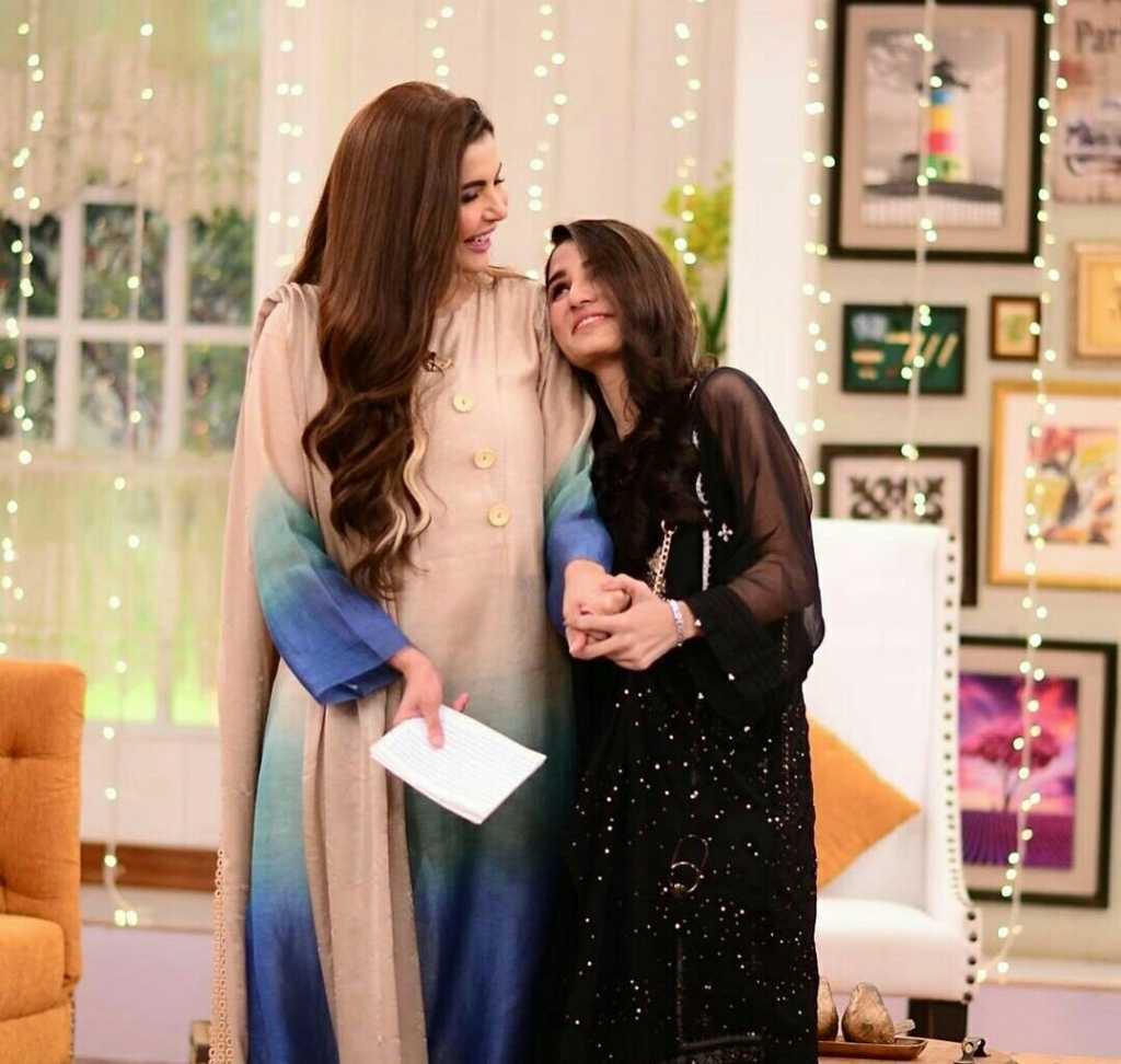 Nimra Ali with Nida yasir