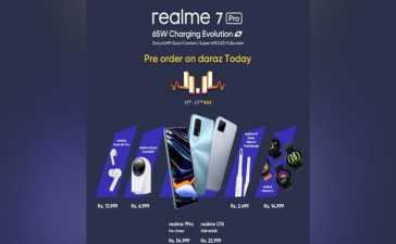 realme 7 Pro event