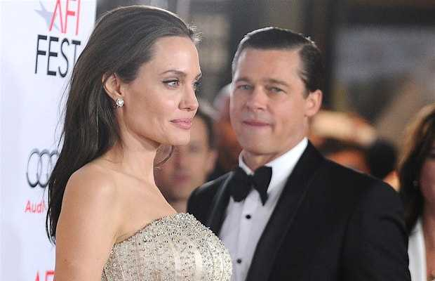 Brad Pitt Angelina jolie custody trial