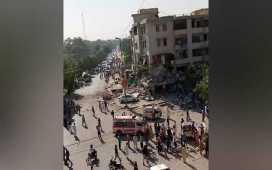 Explosion in muskan chowrangi