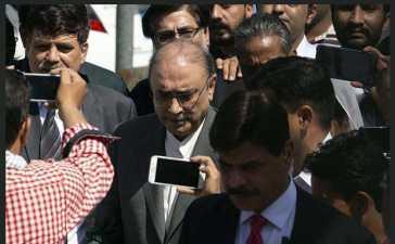 Asif Zardari arrest warrant