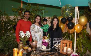 Sania Mirza's Surprise Birthday Celebration