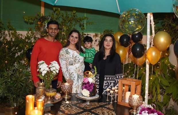 Sania Mirza's Surprise Birthday Celebration