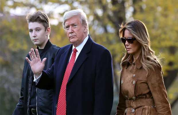 Trump's son tested positive