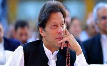 imran khan as most followed