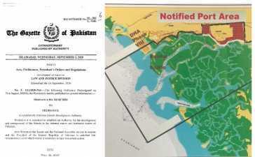 Karachi Twin Island Row ownership tussle