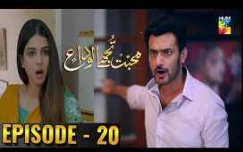 Mohabbat Tujhe Alvida Ep-20 Review