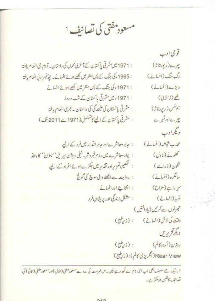 maswood mufti authors