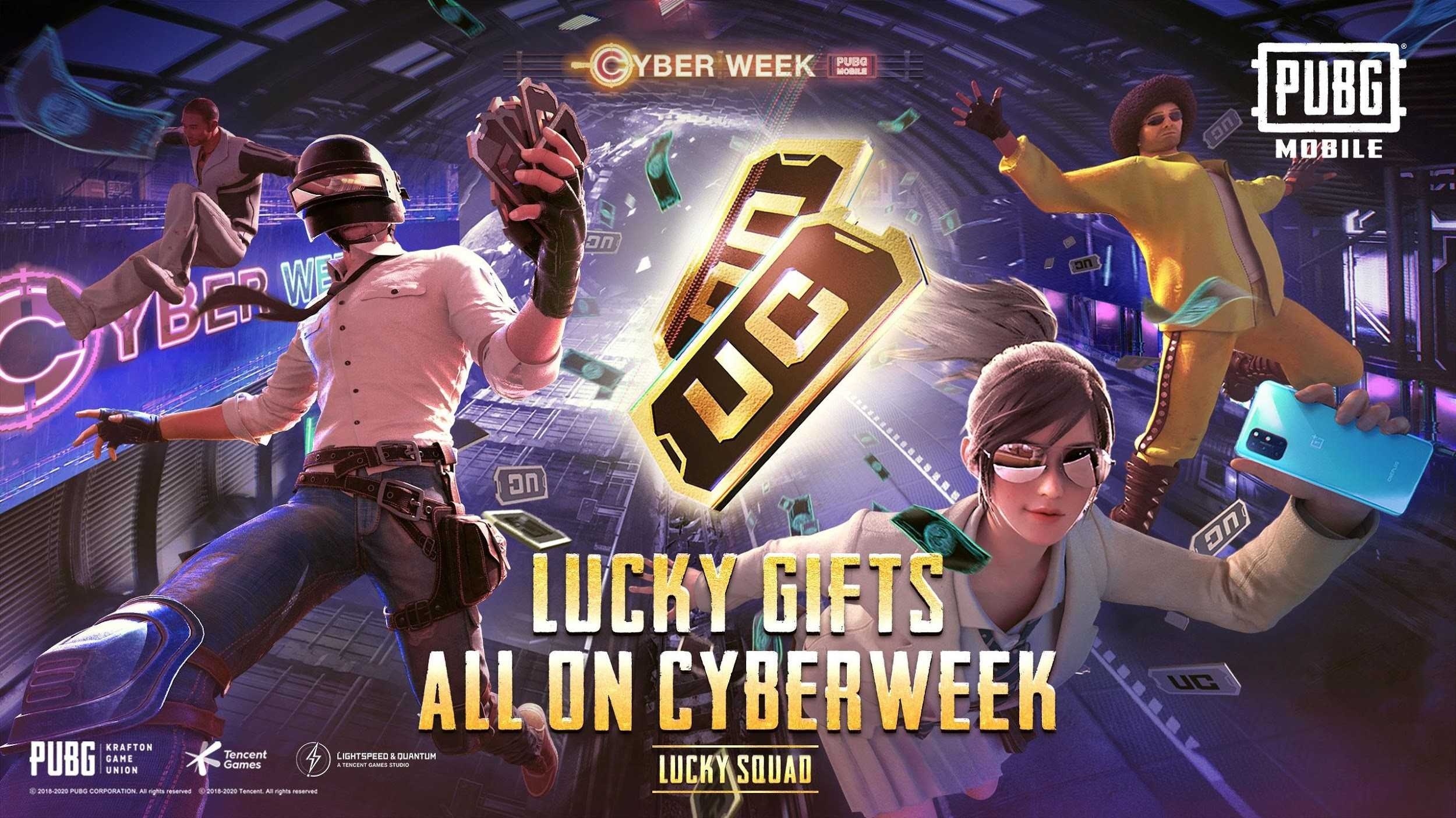 lucky gifts all on cyberweek