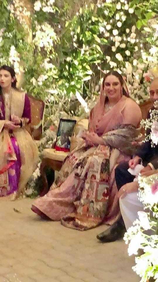 Bakhtawar with guests