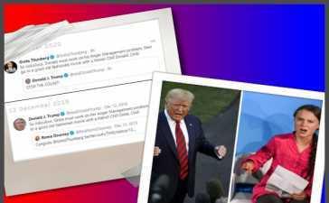Greta Thunberg mocks Donald Trump