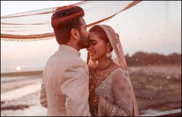 Rabab Hashim with husband