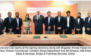 Ufone and Canteen Stores Department