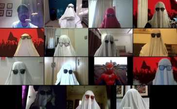 Burqa Surprise during the Zoom Class