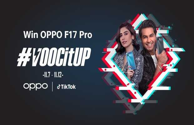 OPPO F17 Pro's #VOOCItUpTikTokChallenge