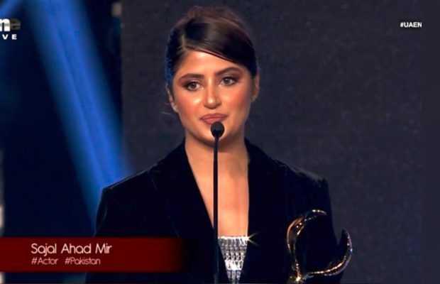 Sajal Aly award winner