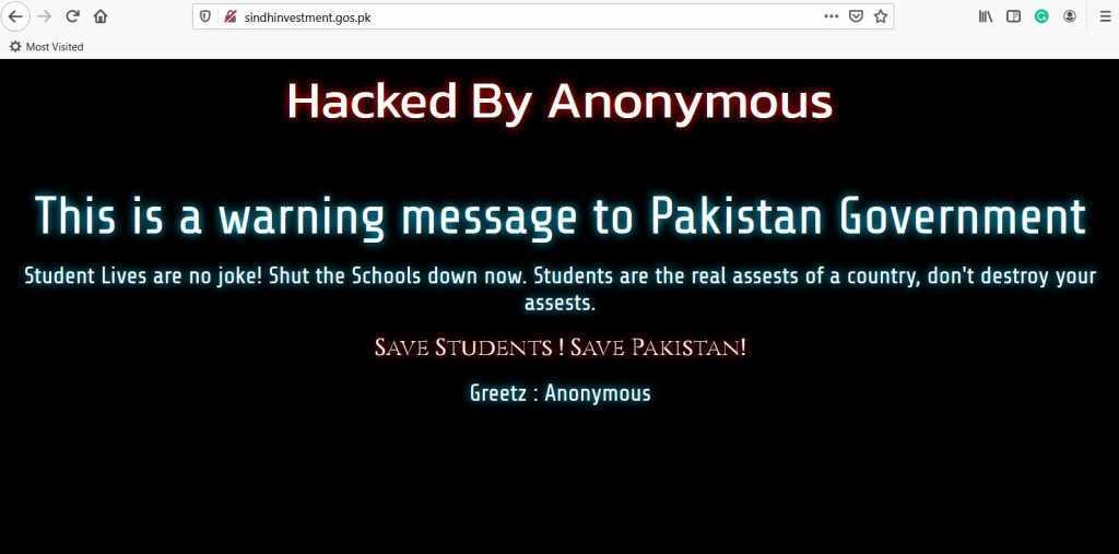 The hacker's demand
