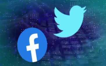 Twitter and Facebook account suspension