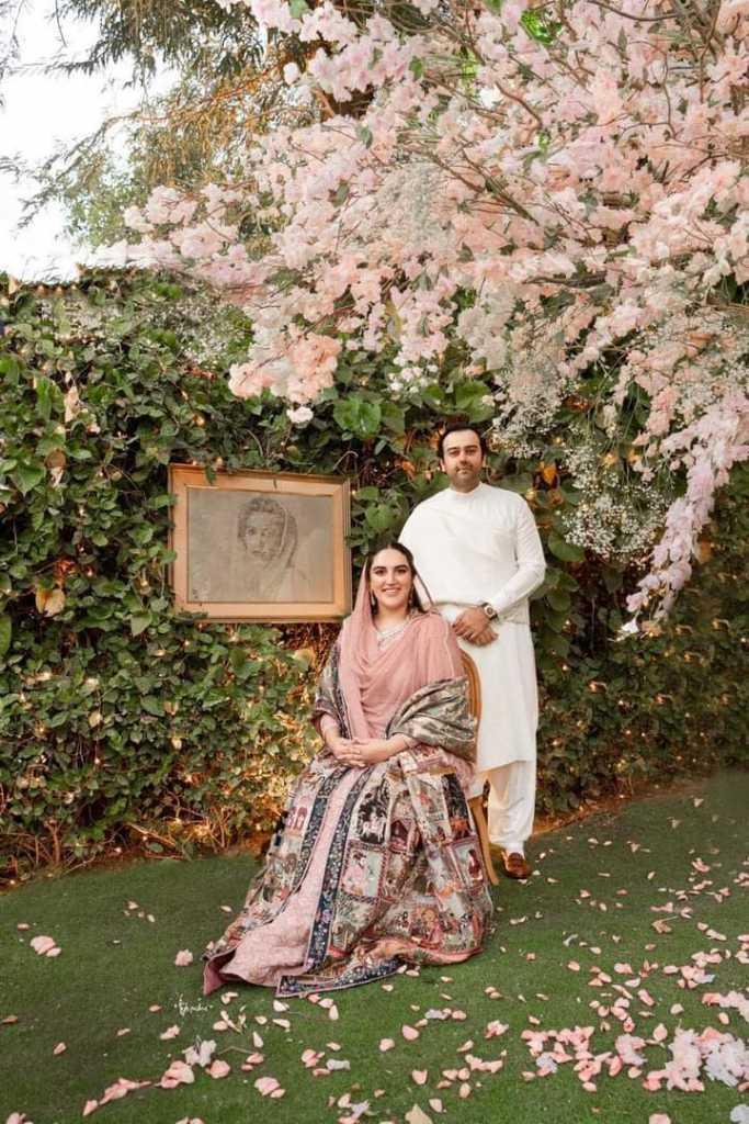 Bakhtawar with Mahmood Chaudhry