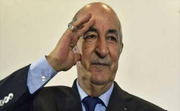 Algeria president tests positive
