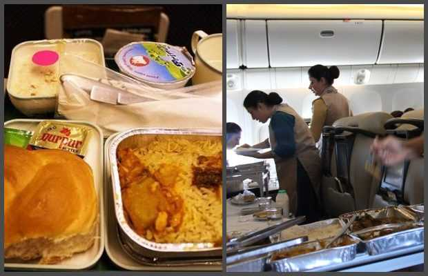 Meals service on Domestic Flights