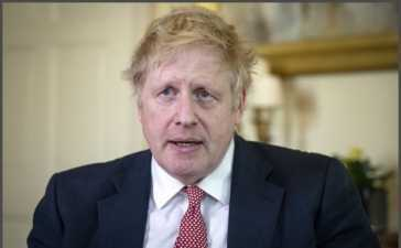 Boris Johnson into Isolation