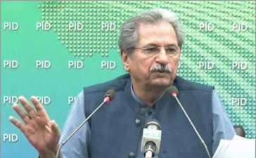 Minister for Education Shafqat Mahmood.