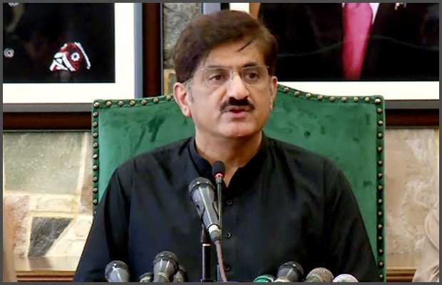 Murad Ali Shah tested positive