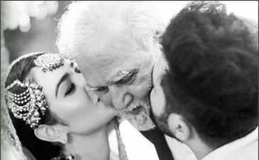 Sara Khan's father death news