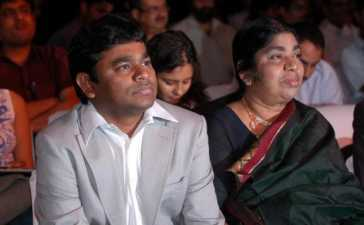 Rahman along with his mother