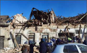 earthquake hits Croatia