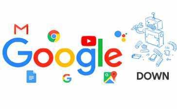 Google, YouTube, Gmail
