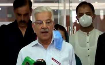 Khawaja Asif arrested