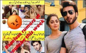 Imran Abbas marriage rumours