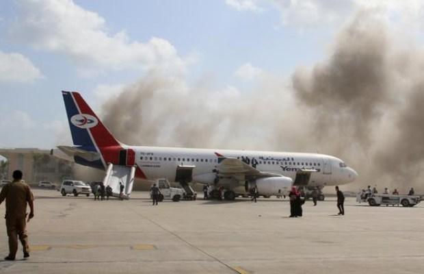 Attack at Yemen's Aden Airport