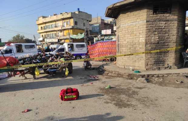 Explosion in Rawalpindi