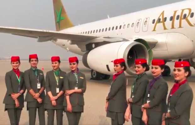 Cabin Crew's Uniforms for AirSial