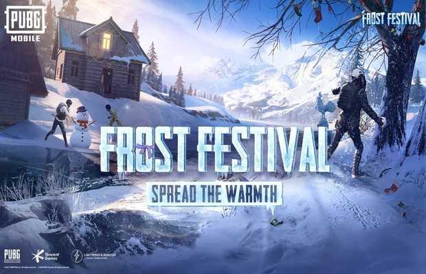 "PUBG MOBILE ""Frost Festival"""