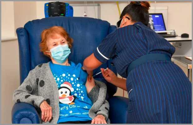 Pfizer Covid-19 Vaccine in UK