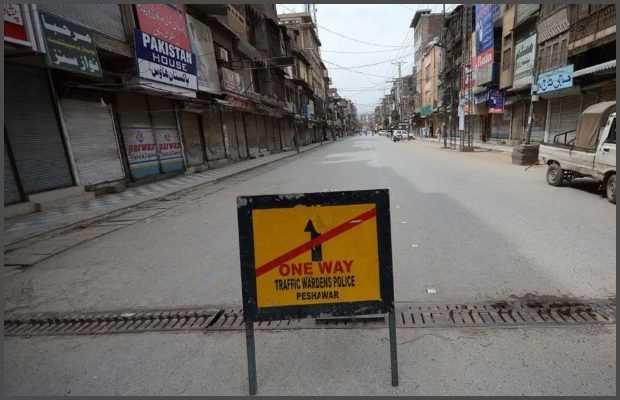 smart lockdown imposes in Peshawar
