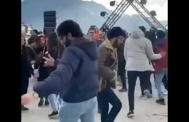 LUMS students in dance party