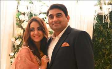 Nadia Khan's Valima Reception