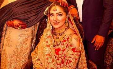 Natasha Ali's wedding picture